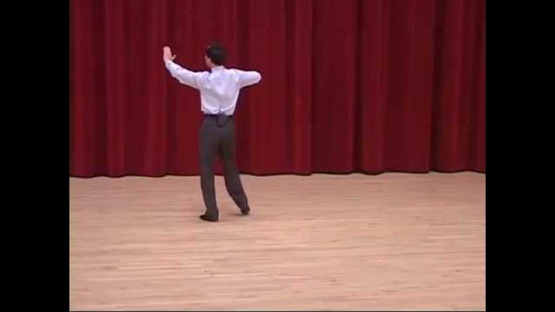 Gold Waltz - Fallaway Reverse Slip Pivot Ballroom Dance Lesson