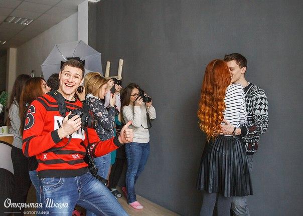 Фотограф Артем Горланов на курсах в фотошколе