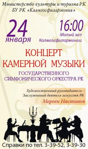 Концерт Государственного симфонического оркестра РК