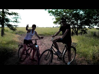 Мега покатушки по селу на велосипеде