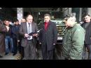 """Міжнародні автоперевізники Хмельниччини подарували українським військам """"КРАЗ"""""""