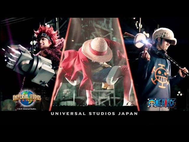 ワンピース CM USJ ユニバーサルスタジオジャパン 2014年夏 ワンピース・プレミ