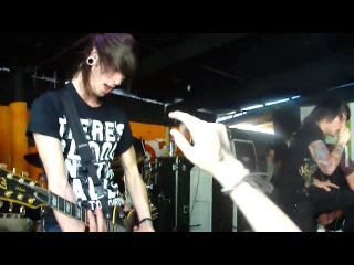 Asking Alexandria - Hey There Mr. Brooks LIVE at Red 7 in Austin, Texas @ SXSW (HD)