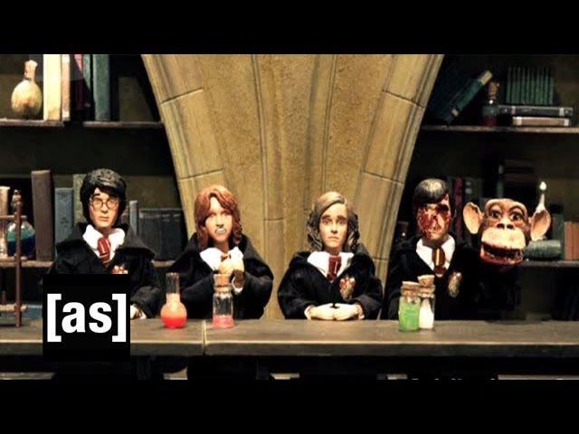 Potter, You Fool | Robot Chicken | Adult Swim