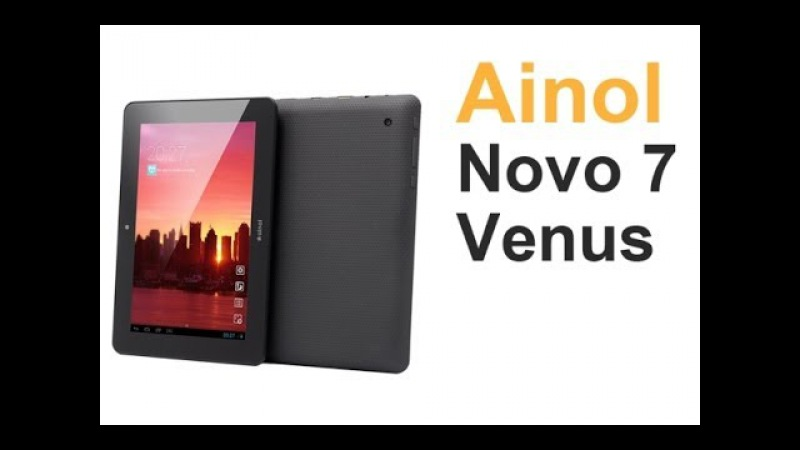Видео обзор 7 дюймового планшета Ainol Novo 7 Venus