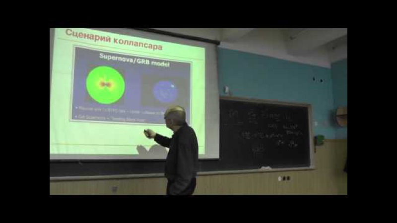 Сверхновые необычно высокой светимости и возможная связь их физики с гамма-всплесками (03.12.2014)