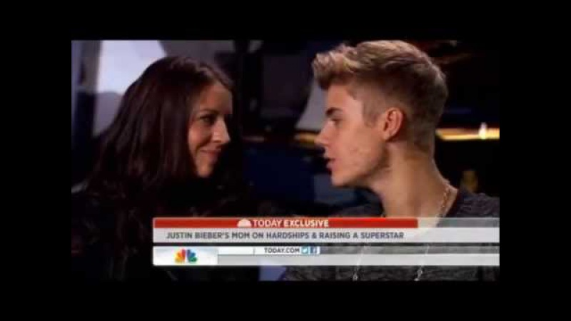 Justin Bieber Singing Turn To You To Pattie (His Mom)
