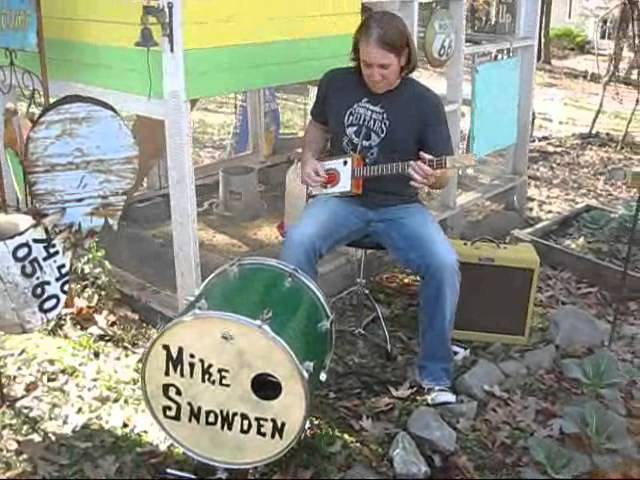 Mike Snowden Chicken Coop Blues Cigar Box Guitar STOMP