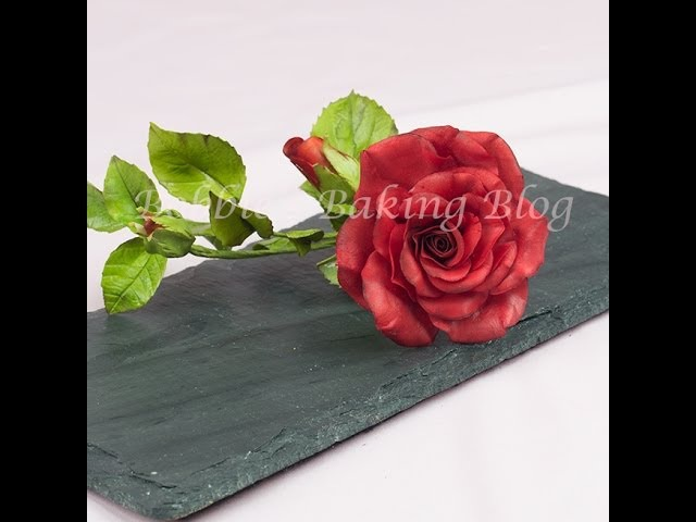 Learn How to Create A Gumpaste a Life Like Rose: From Bud to Fully Open Series 1 The Bud
