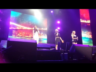 [FANCAM] 150808 Choa & Hyejeong & Yuna - Empire State of Mind @ KCON NY 2015