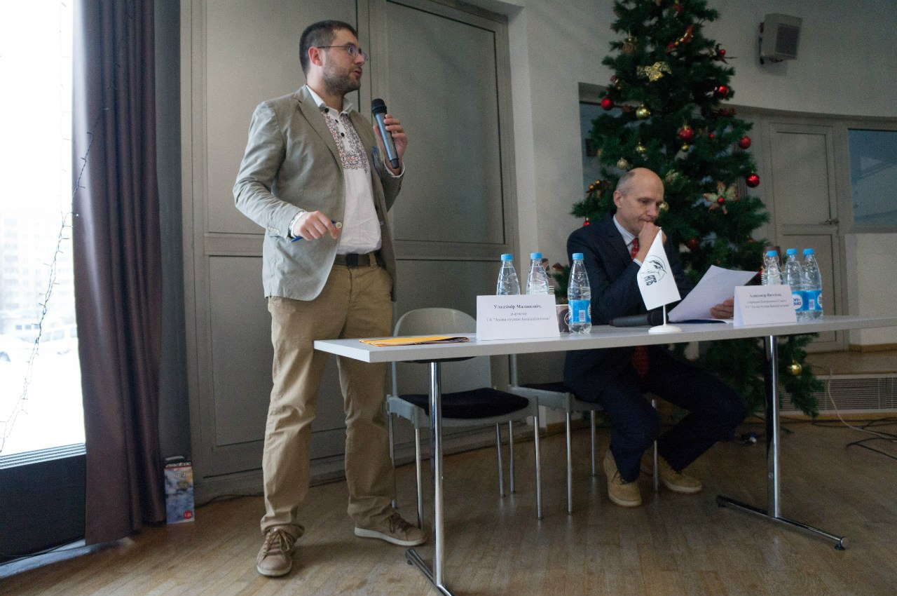 Директор АПБ Владимир Малашевич и Председатель АПБ Александр Винчевский