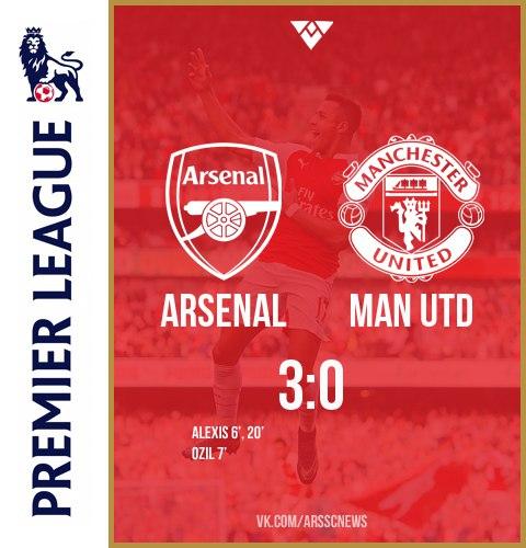 премьер-лига Англия, Манчестер Юнайтед, Арсенал