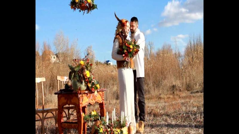 Свадьба в стиле Бохо! Воркшоп в Ахтубинске!Видеограф Кирилл Холодков.