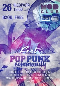 26/02 SPB @ MOD POP PUNK COMMUNITY FEST Free