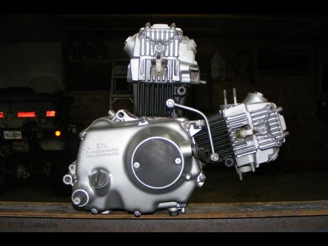 V образный двигатель на мопед альфа дельта