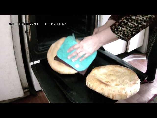 Узбекские лепешки, готовим дома.