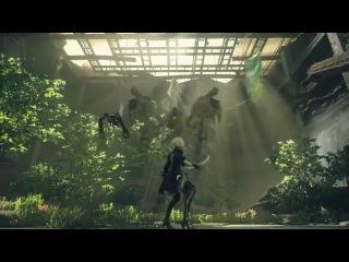 NieR׃ Automata - Gameplay Trailer (PS4) (Platinum Games)
