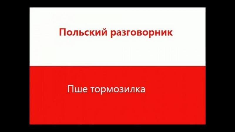 Польский разговорник - Пше тормозилка
