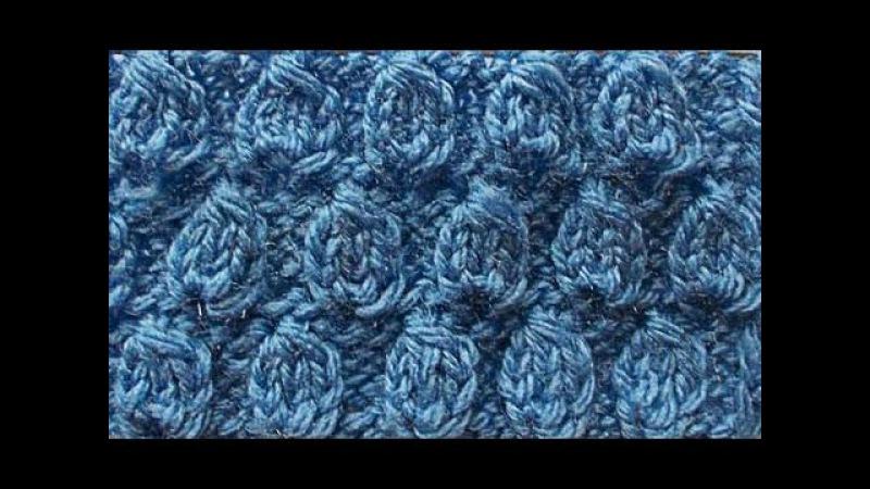 Узор Шишечки  Knitting basics