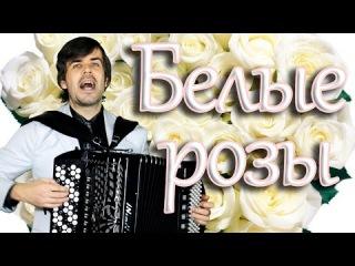 БЕЛЫЕ РОЗЫ под баян - поет Вячеслав Абросимов