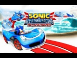 Играем в Sonic And All Stars Racing Transformer - часть 1 - Easy