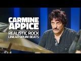 Carmine Appice Linear Drum Beats - Drum Lesson (Drumeo)