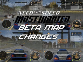 Need For Speed: Most Wanted Beta Map Changes