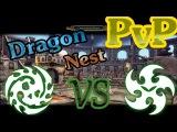 Dragon Nest PvP Отступник vs Палач 70лвл (Abyss Walker vs Raven 70lvl)