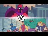 Мстители ПРОТИВ Магнето (Пародия на Мстители / Люди Икс)