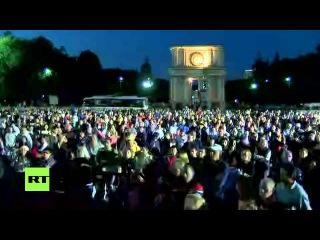 8 СЕНТЯБРЯ 2015 г. АНТИПРАВИТЕЛЬСТВЕННЫЕ ПРОТЕСТЫ в КИШИНЁВЕ