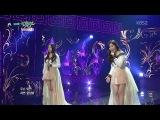 150206 Davichi (다비치) - Cry Again (또 운다 또) @ Music Bank