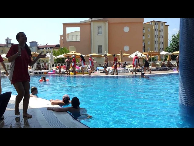 Hotel club paradiso alanya club dance 2012 .mp4