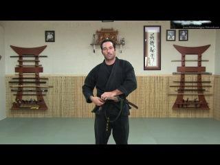 KATANA 1 - SWORD: HOW TO WEAR IT - Ninjutsu Online Instruction - Ninja weapon sword - Machida