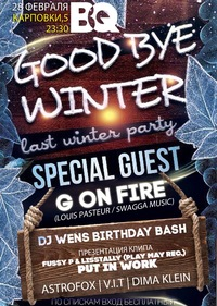 28/02 BQ CLUB // LAST WINTER PARTY