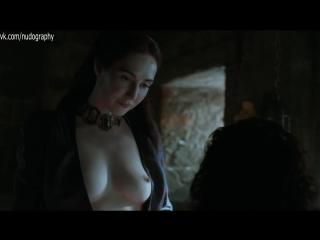 Кэрис ван Хаутен (Carice van Houten) голая в сериале