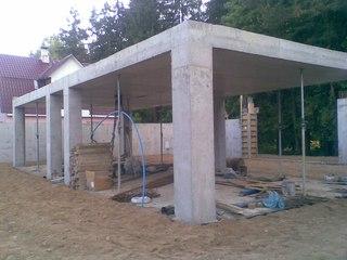 Каркасный дом из бетона своими руками