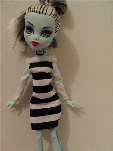 Шьем одежду для кукол монстер хай своими руками