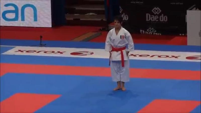 Kata GOJUSHIHO SHO by Sandy Scordo (FINAL) - 21st WKF World Karate Championships