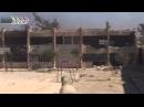 Дуэль танкиста и боевика.Бой за школу в Джобаре. Syria. vs militant duel.