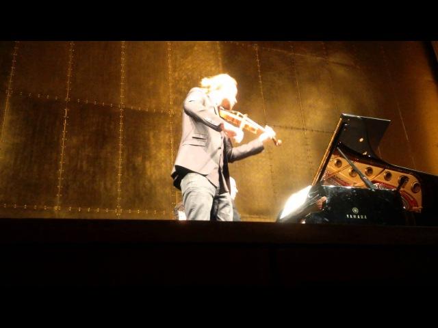 David Garrett Paris 22 03 2015 Brahms Thuner sonate III