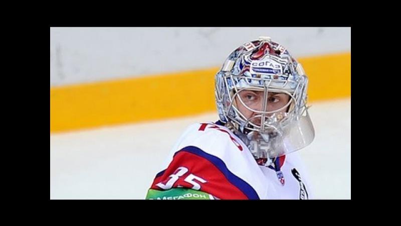Лучшие сэйвы регулярного сезона КХЛ KHL Top 10 saves of the regular season