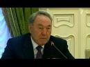 Президент Казахстана Нурсултан Назарбаев прибыл в Москву после визита в Киев - Первый канал