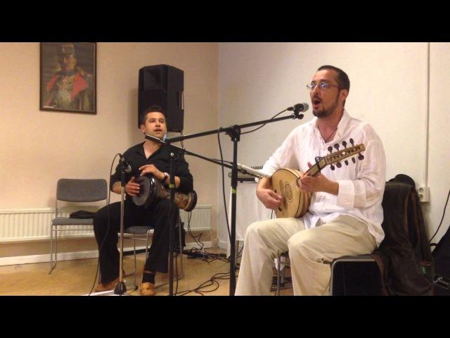 Vladimir Simic (Belo platno) i Aleksandar Prodanovic - mini koncert
