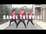 Видео уроки танцев  - TALK DIRTY - Dance Tutorial Part 1  Jayden Rodrigues