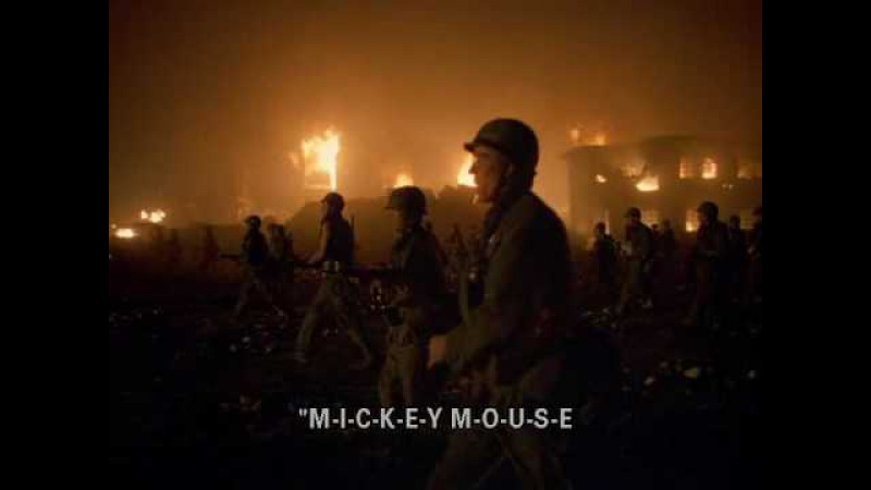 Full Metal Jacket-Mickey Mouse Club Finale Song Spanish Sub