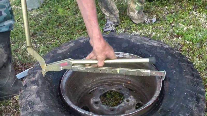 Приспособление для монтажа шин в домашних условиях - Kvartiraivanovo.ru