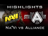 NaVi vs Alliance Highlights Dota 2 Starladder X Europe Groupstage