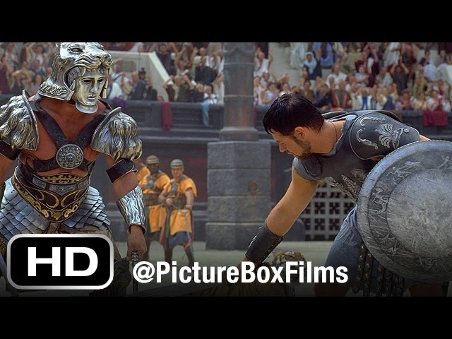 Gladiator   The Battle with A Retired Gladiator (ft Russell Crowe and Joaquin Phoenix)