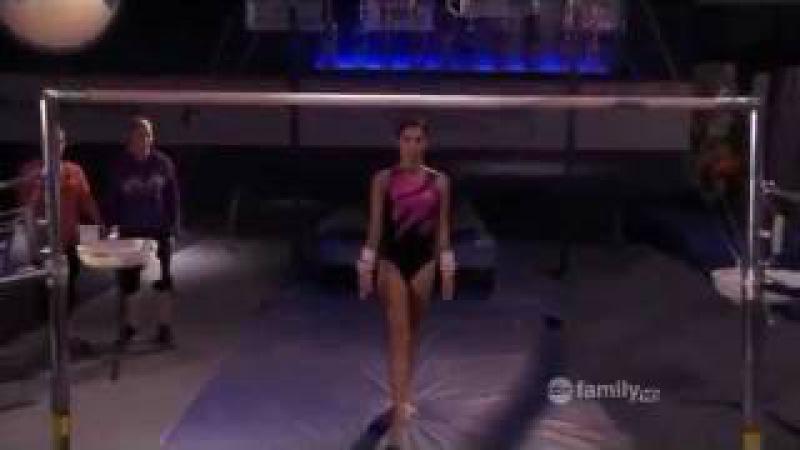 Kaylie's bars routine - Make it or Break it Season 2 Episode 17