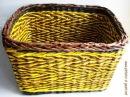 ▬►Плетение из газет загибки. Часть VII. / How to basketry